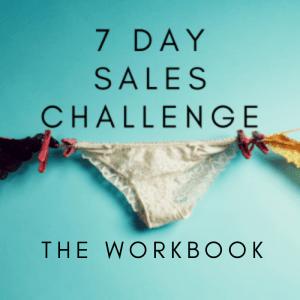 7 Day Sales Challenge Workbook