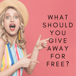 What Should You Give Away For Free